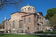 圣艾琳教会在Topkapi宫殿公园  伊斯坦布尔 火鸡 库存图片