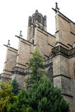 圣艾蒂安大教堂 库存照片