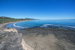 圣芭卜拉海岸线2 库存图片