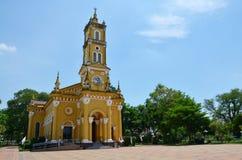 圣若瑟天主教,阿尤特拉利夫雷斯泰国 免版税库存照片