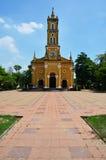圣若瑟天主教,阿尤特拉利夫雷斯泰国 免版税图库摄影