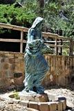 圣若瑟山, Yarnell,亚利桑那,美国寺庙  库存图片