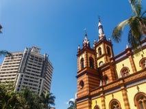 圣若瑟教会和企业大厦 免版税库存图片