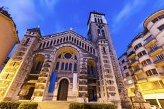 圣若瑟教会在格勒诺布尔 库存照片