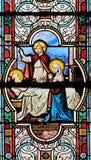 圣若瑟死亡  免版税库存图片