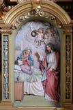 圣若瑟死亡  库存图片