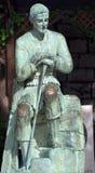 圣若瑟雕象 库存图片