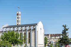 圣若瑟,索非亚,保加利亚大教堂  库存图片