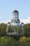 圣若翰洗者斩首的教会在Dyakovo,莫斯科,俄罗斯联邦 库存照片