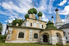 圣若翰洗者17世纪, Uglich,俄罗斯斩首的教会  免版税库存图片