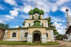 圣若翰洗者17世纪, Uglich,俄罗斯斩首的教会  库存图片