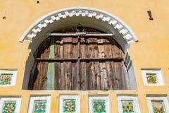 圣若翰洗者17世纪, Uglich,俄罗斯诞生的教会  库存照片
