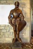 圣莱奥-骑士中世纪装甲  免版税库存照片