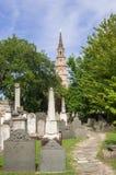 圣菲利普教会在查尔斯顿 免版税图库摄影