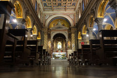 圣萨尔瓦托雷在奥田恩田 库存图片