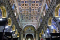 圣萨尔瓦托雷在奥田恩田 免版税库存图片