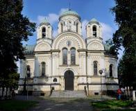 圣詹姆斯传道者教会琴斯托霍瓦 免版税库存照片