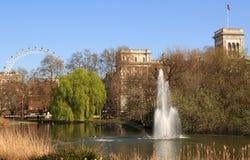 圣詹姆斯公园,伦敦,英国 免版税图库摄影