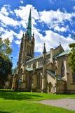 圣詹姆斯大教堂教会在多伦多,安大略 库存照片