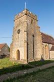 圣詹姆斯教会伟大的Longburton塔 免版税库存图片