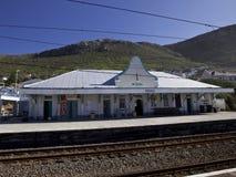 圣詹姆斯火车站在开普敦,南非 库存图片