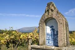 圣詹姆斯的小教堂农村风景的 库存图片