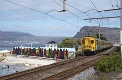 圣詹姆斯西开普省南非 免版税库存图片