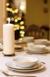 圣诞前夕晚饭 免版税库存图片