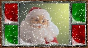 圣诞前夕 库存照片