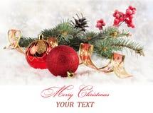 圣诞卡。 库存图片