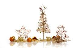 圣诞卡模板 免版税库存图片