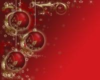 圣诞卡背景。 免版税库存照片