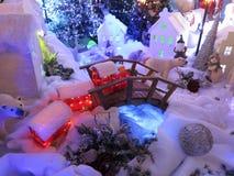 圣诞卡:冬天仙境-储蓄照片 库存图片