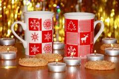 圣诞卡:Xmas装饰-储蓄照片 免版税库存照片