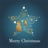 圣诞卡 免版税图库摄影