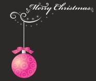 圣诞快乐。 免版税库存照片