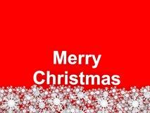 圣诞快乐。 免版税库存图片