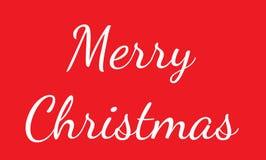 圣诞快乐书信设计 圣诞快乐字法文本 库存图片