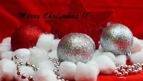圣诞快乐和一新年好 库存图片