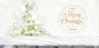 圣诞快乐和新年好缠绕与金黄闪烁te 免版税库存图片
