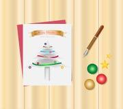 圣诞快乐和新年好节日概念 圣诞节C 免版税库存图片