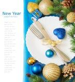 圣诞快乐和新年好 库存照片