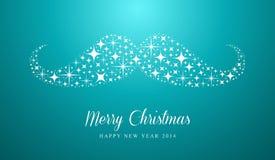 圣诞快乐和新年快乐行家greetin 免版税库存图片
