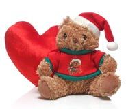 圣诞快乐和玩偶 免版税库存图片