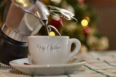 圣诞快乐和节日快乐对全世界 库存图片
