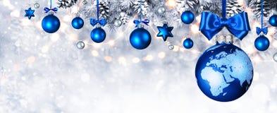 圣诞快乐在世界上 免版税库存图片