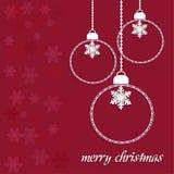圣诞快乐天传染媒介 库存照片