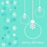 圣诞快乐天传染媒介 免版税库存图片