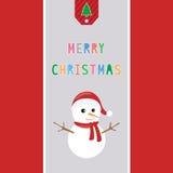 圣诞快乐招呼的card38 免版税库存照片