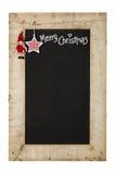 圣诞快乐新年黑板 免版税库存图片